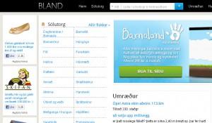 Bland.is vefurinn
