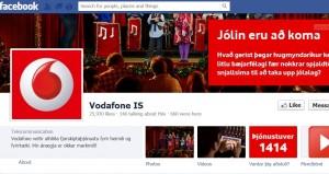 Vodafone á Facebook
