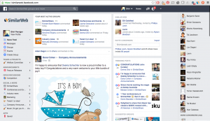 Facebook at Work hjá Similar Web