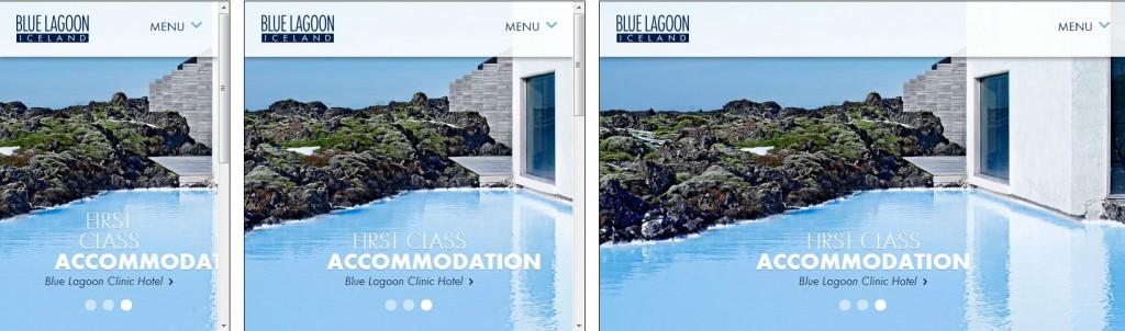 Vefur Blue Lagoon