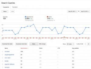 Google Webmasters gðgn