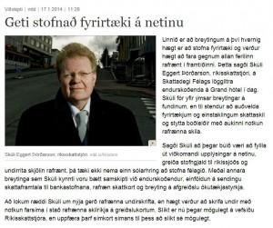 RSK er stöðugt að bæta rafræna þjónustu