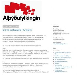 Alþýðufylkingin