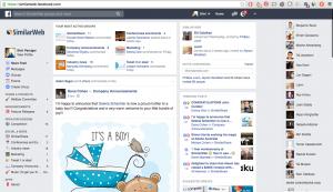 Facebook at Work hjá Similar Web