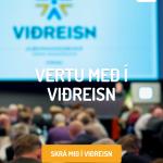 Vefur Viðreisnar í síma